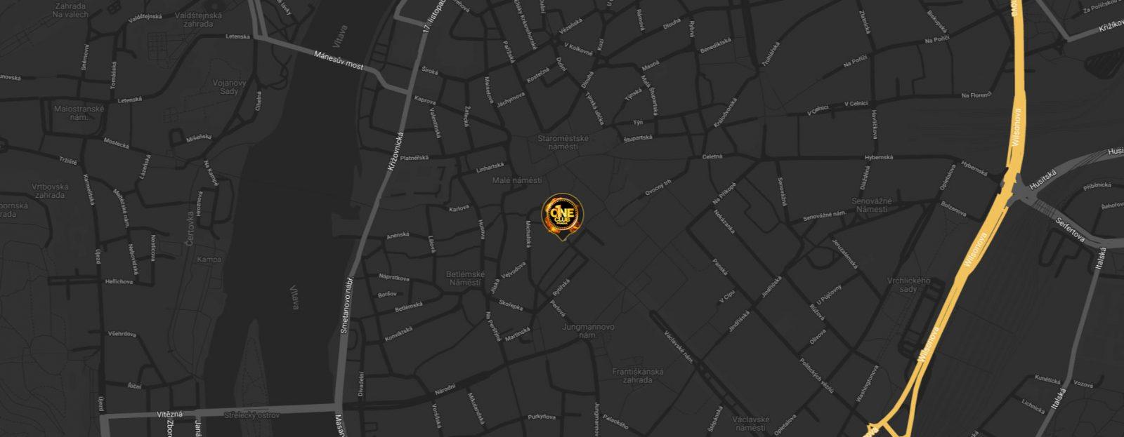 one club prague map